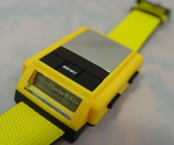 On Ebay: Old Seiko Watch With… a Drum Machine?