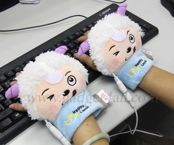 Deranged Animals Keep Your Hands Warm While You Type