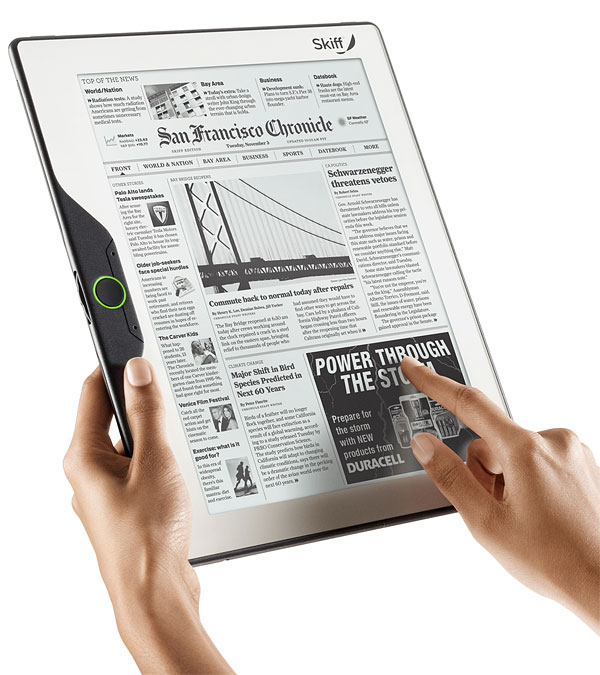 skiff reader e-book reader e-ink