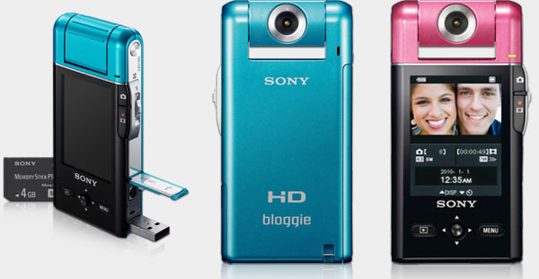 sony mhs pm5 bloggie mp4 camera