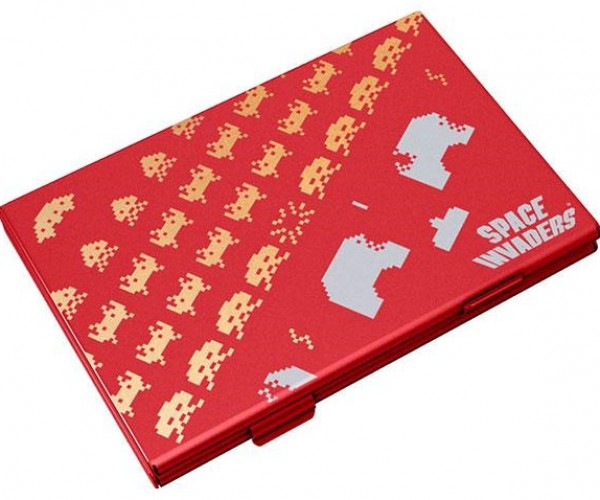 space_invaders_business_card_case_red