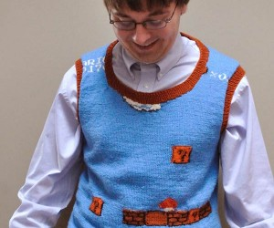 Super Mario Sweater Vest: the World'S Most Powerful Bully Magnet