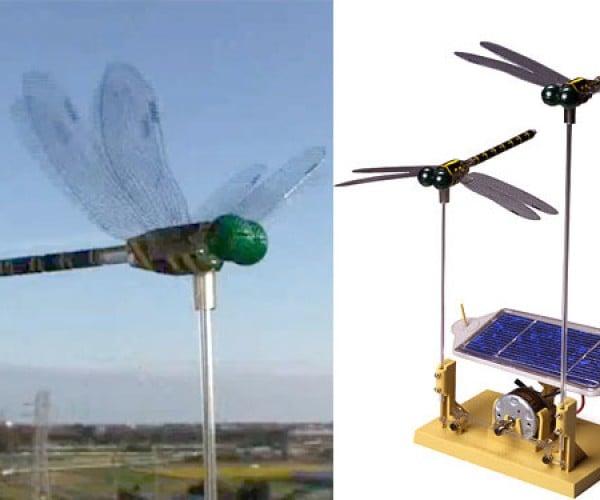 Solar-Powered Dragonflies Are Beautiful, Flightless