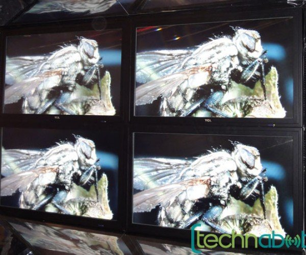 Tcl Shows 3d Display That Requires No Glasses