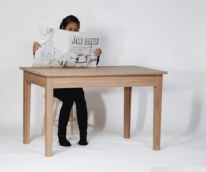 The Daily Shelter Transforming Table: the Acrophobic'S Treehouse