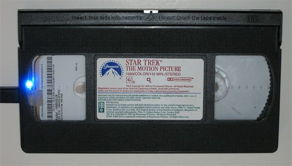 vhs hard drive star trek 2