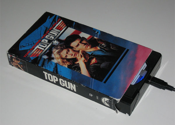 vhs hard drive top gun