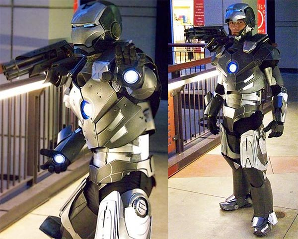 war machine costume 2