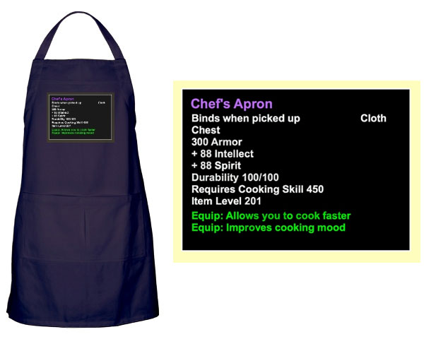 world of warcraft chef's apron