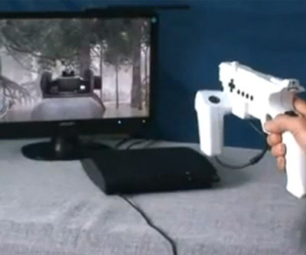 Xcm PS3 Light Gun is the Mutant Child of a Controller and a Gun