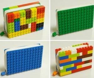 Keep Your Money in a LEGO Wallet