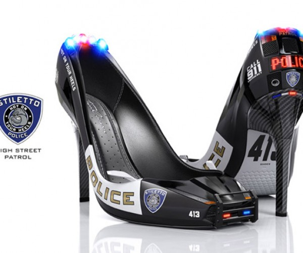 Blade Runner Stiletto Cop Heels Make You Want to Get Pulled Over