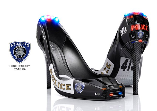 stiletto police heels shoes