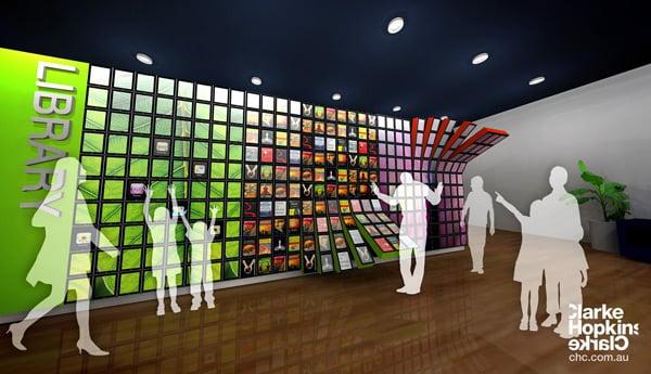 ipad wall design refurbished