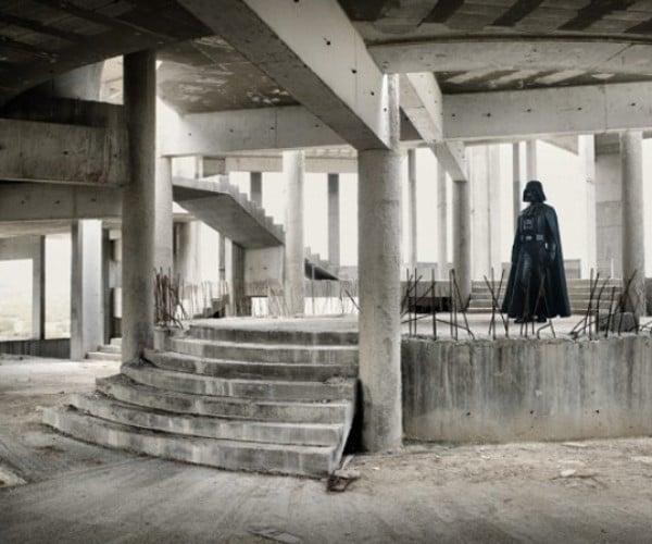Start Wars: Star Wars Under Construction in Dubai