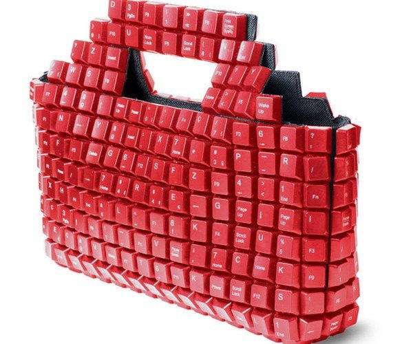 Keybag: Computer Keyboards Get New Life as a Purse