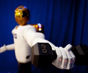 NASA's New Robonaut 2 Looks Like Daft Punk Made It