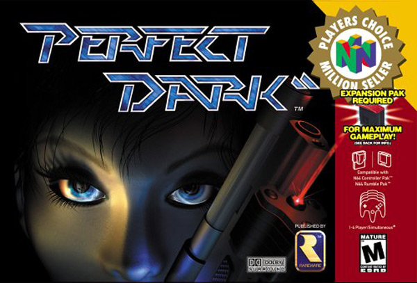 perfect dark joanna xbla xbox 360 n64 video game