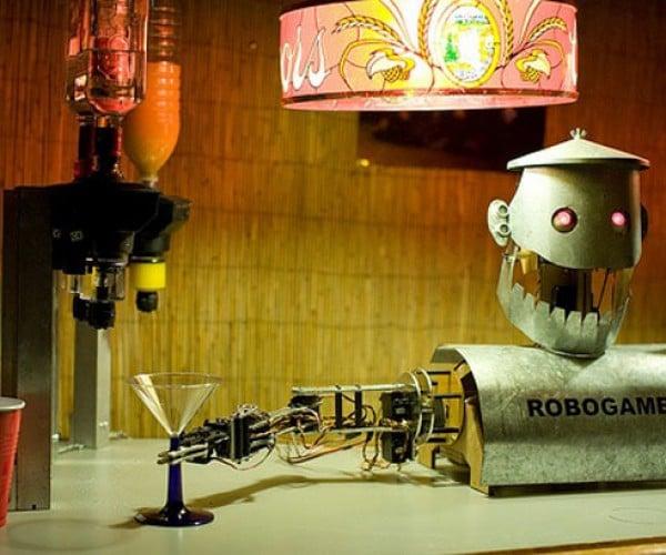Chapek the Barbot: Serves You Drinks Until It Breaks Down!