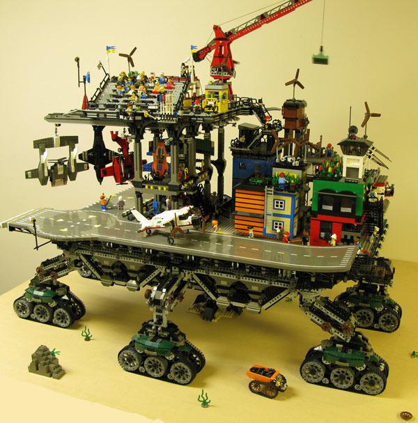 lego dave degobbi crawler town toy