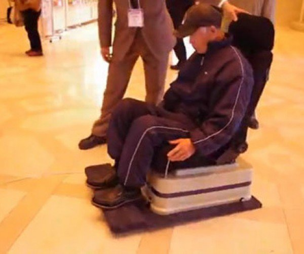Levitating Chair Could Make the Hoverboard a Reality