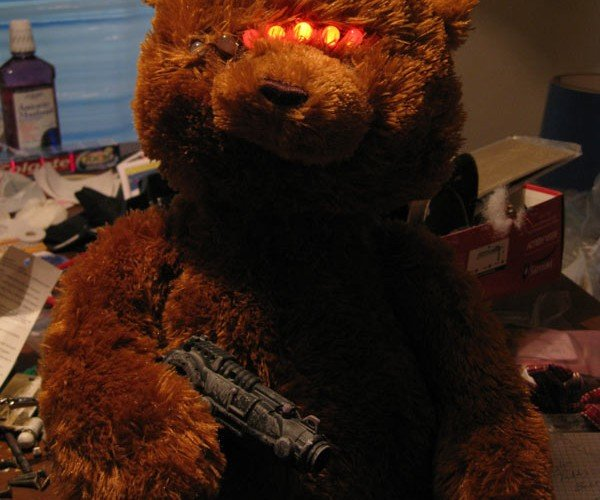 Cylon Teddy Bear: You Will be Assimilated!