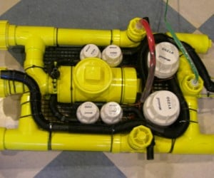 DIY Submarine Made From Pvc: Dive! Dive!