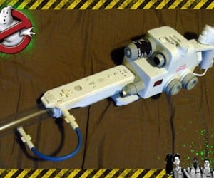 Ghostbuster Wii-Mote Mod: Ready for Action!