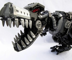 Robo-Rex Combines Legos and Robots With Dinosaurs