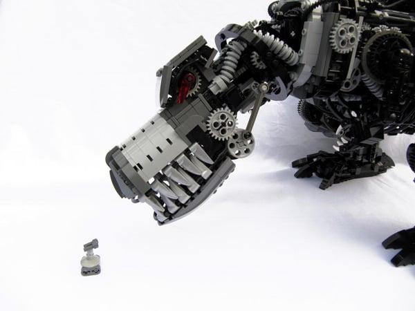 robo-rex lego robot dinosaur toys cool
