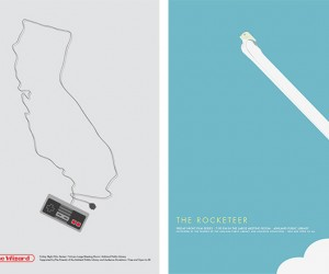 Reminisce the Minimalist Way With Brandon Schaefer'S Movie Posters