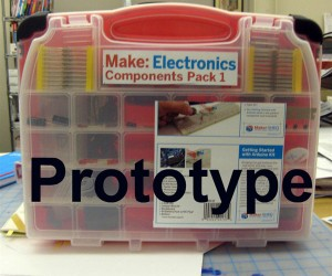 Make Electronics Components Pack: for Budding Inventors, Modders and Hackers