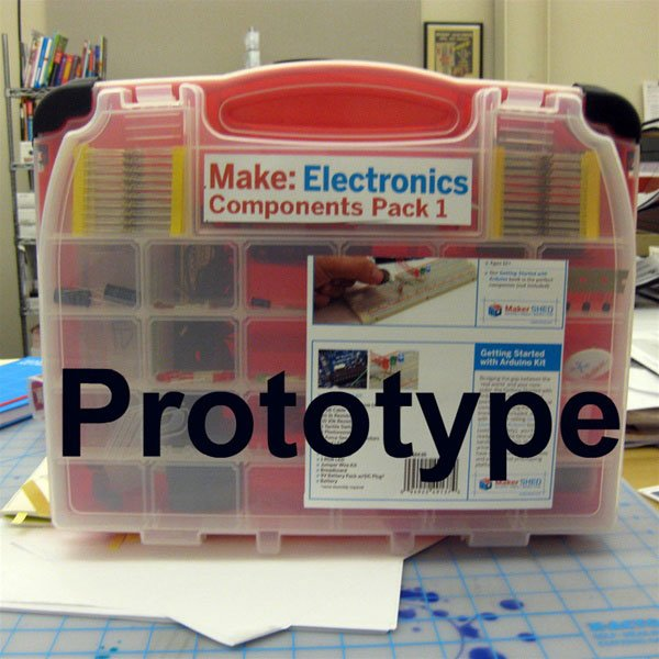 Make Electronics Components Pack 1