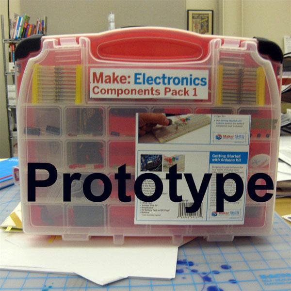 Make Electronics Components Pack 1