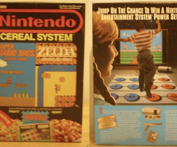 On Ebay: Nintendo Cereal System Sealed While Fresh!