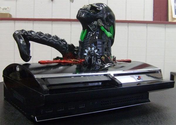 alien chestburster casemod 2
