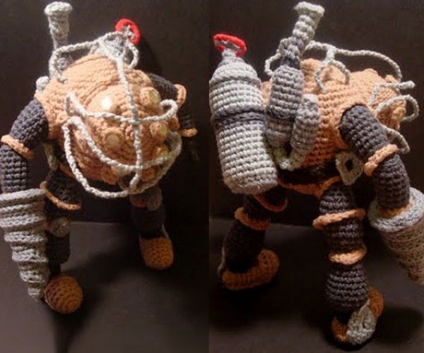 Big Daddy Amigurumi: Bioshock Gets Soft and Squeezy