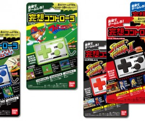 Bandai Mousou Mini Controllers Play Your Arcade Favorites, but Not Really