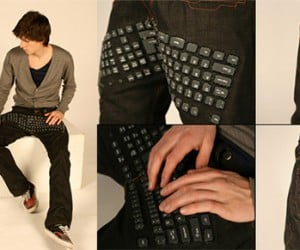 Computer Keyboard Pants: Neither Fashionable Nor Geeky