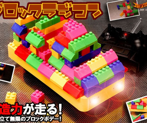 Blockcar: LEGO-Inspired R/C Car Lets You Build Your Own Custom Vehicles