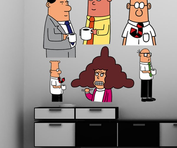 Dilbert Comes to Your Office With New Wall Graphics