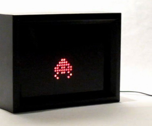 LED Electric Windows Add Geometric Patterns (and Space Invaders) to Your Living Room
