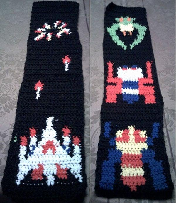 galaga scarf