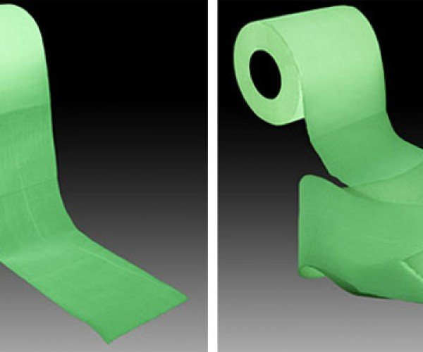 Glow in the Dark Toilet Paper: for Bathroom Raves