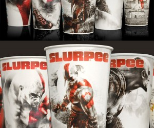 God of War III Slurpee Cups at 7-11: Oh Thank Heaven for Kratos