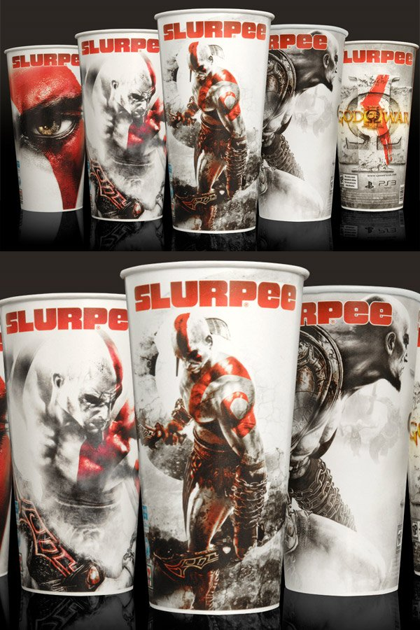 god of war slurpees