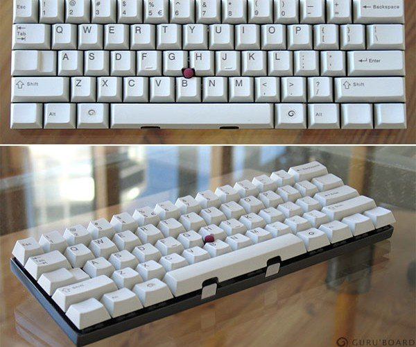 Miniguru Custom Keyboard Does Away With All Excess