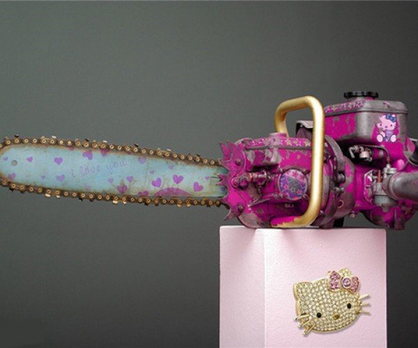 Hello Kitty Chainsaw: Because Lumberjacks (and Serial Killers) Can be Hello Kitty Fans Too
