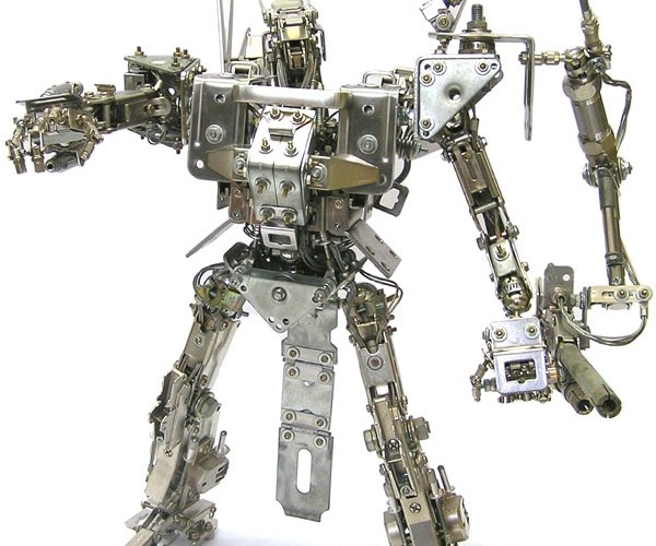 Henry'S Robots: Metal Model Mechs Make Me Merry