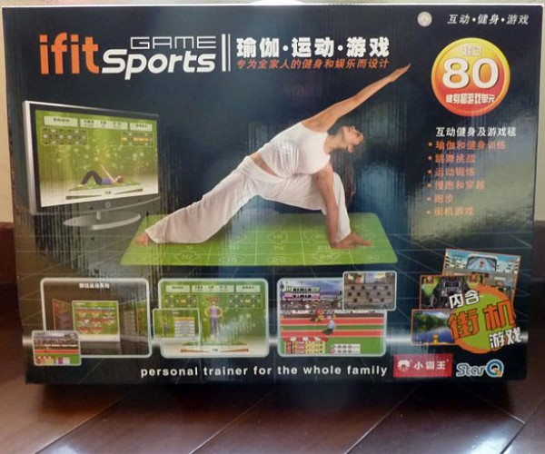 Wii Fit + Wii Sports + Ddr – Fun = Ifit Sports